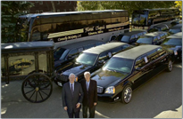 Prevost Coach Buses for your funeral