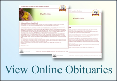 view online obituaries