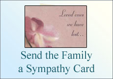 send the family a sympathy card